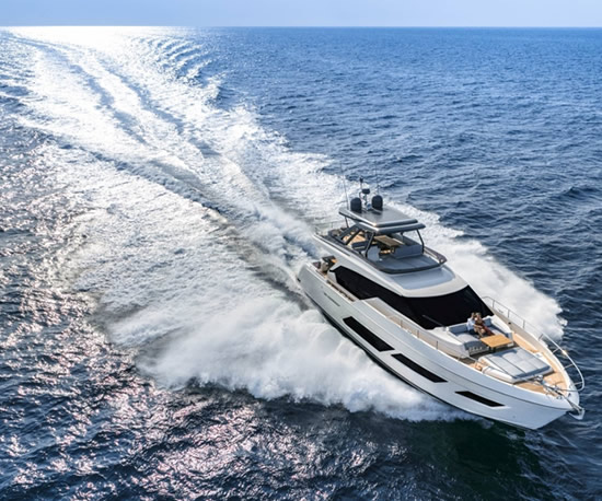 Motor yachts charter